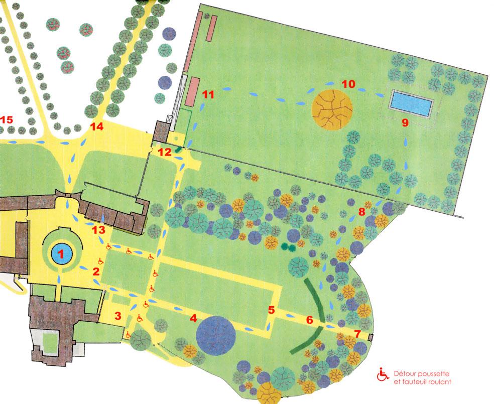 Le jardin exceptionnel du ch teau de modave - Plan de jardin ...